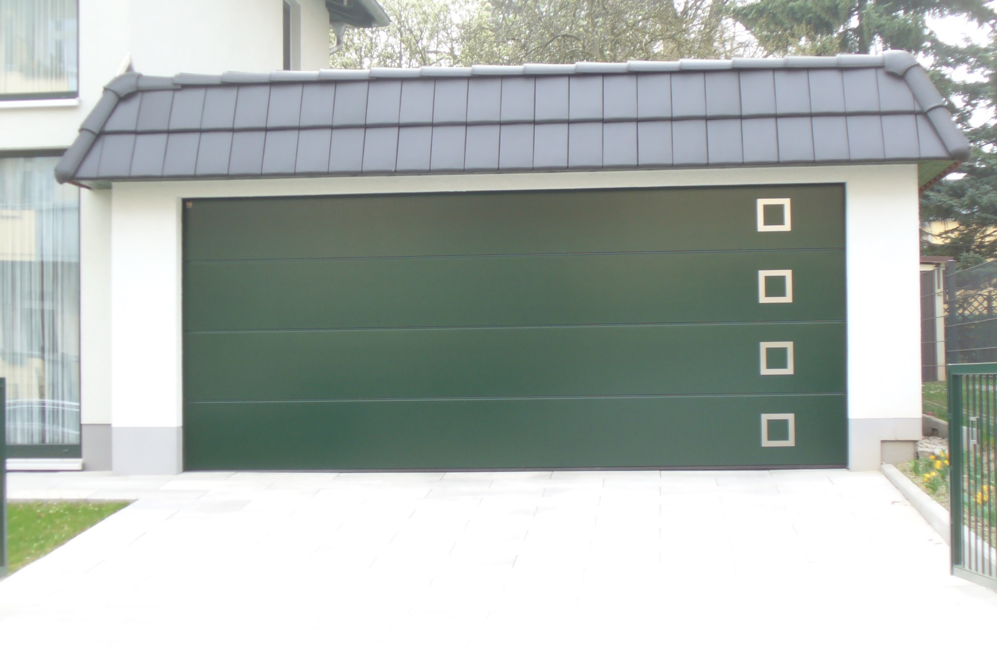 garagen passend zum haus carport scherzer. Black Bedroom Furniture Sets. Home Design Ideas