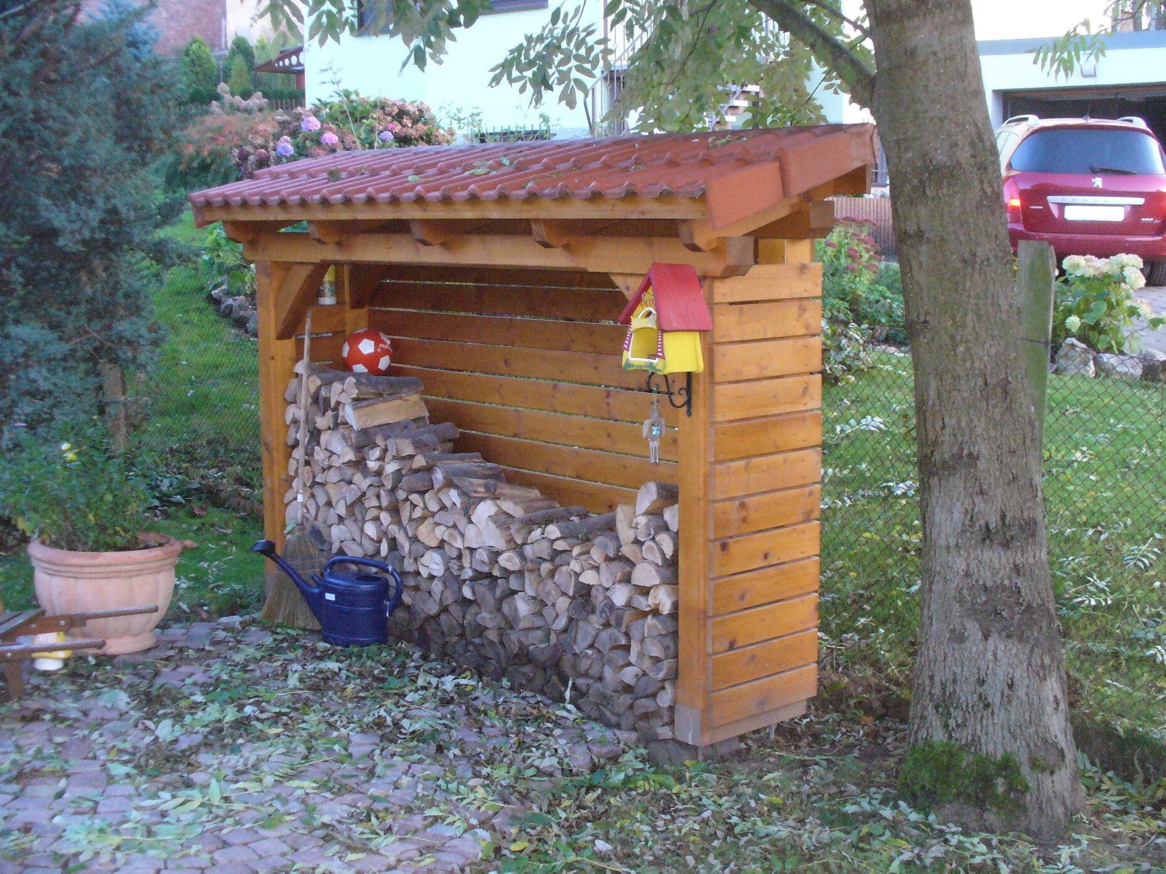 Kaminholzunterstand design  Viele kleine Extras rund ums Haus! | Carport Scherzer