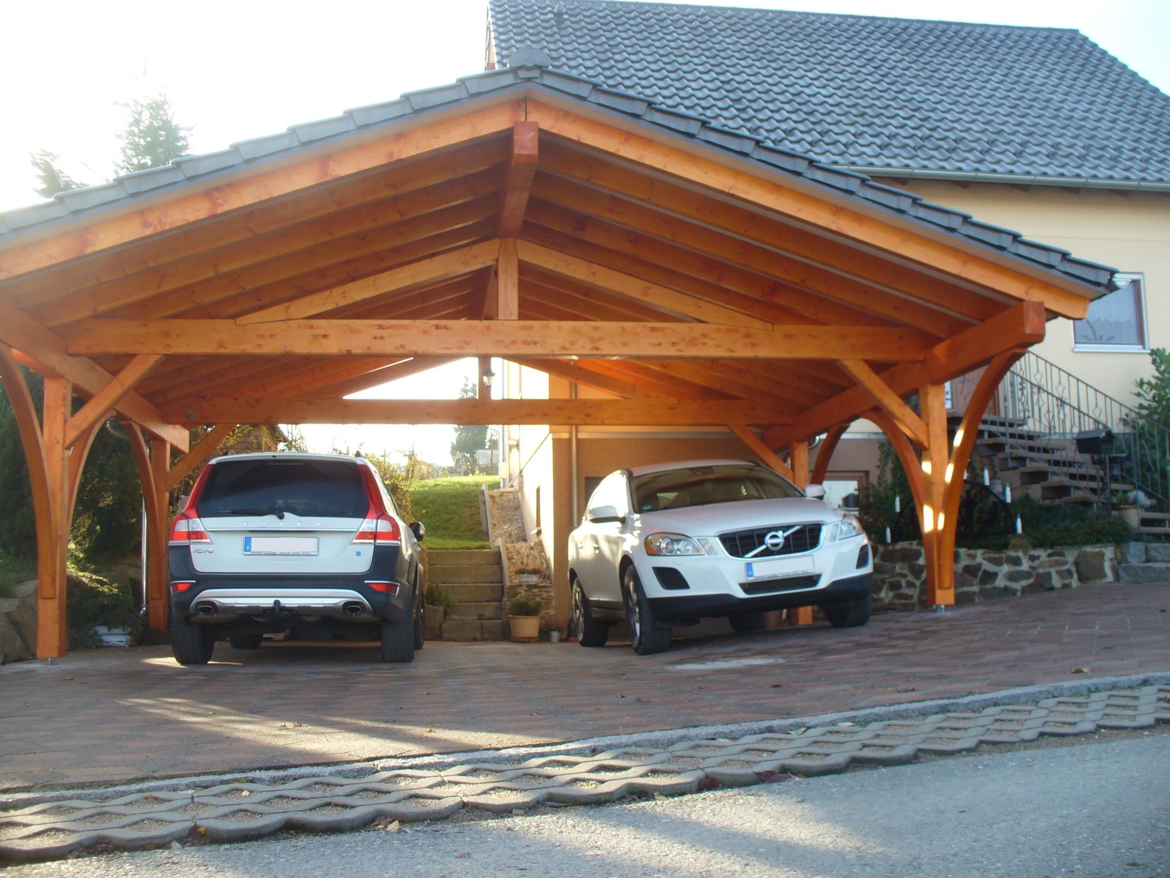 Satteldachcarports | Carport Scherzer