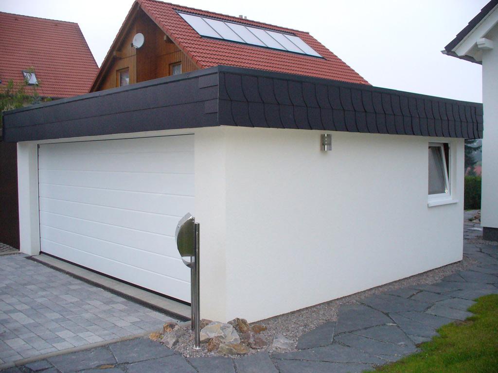 Garage mit carport flachdach  Attikagaragen | Carport Scherzer