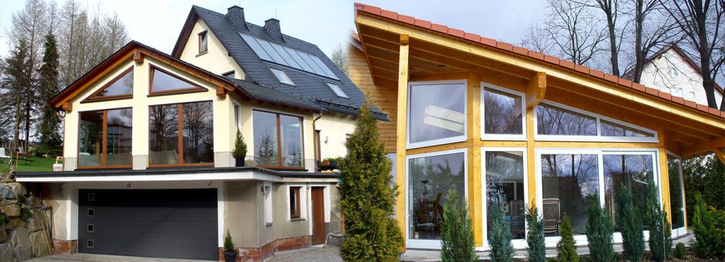 Hausanbauten und Wintergärten