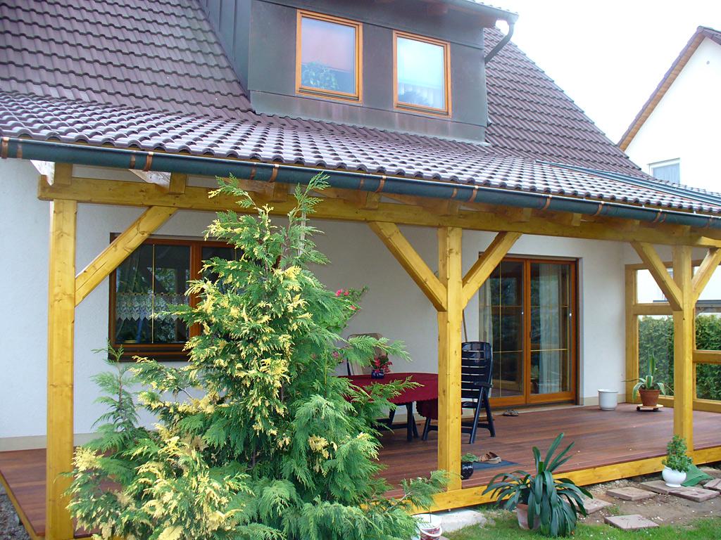 terrassen berdachungen aus holz carport scherzer. Black Bedroom Furniture Sets. Home Design Ideas
