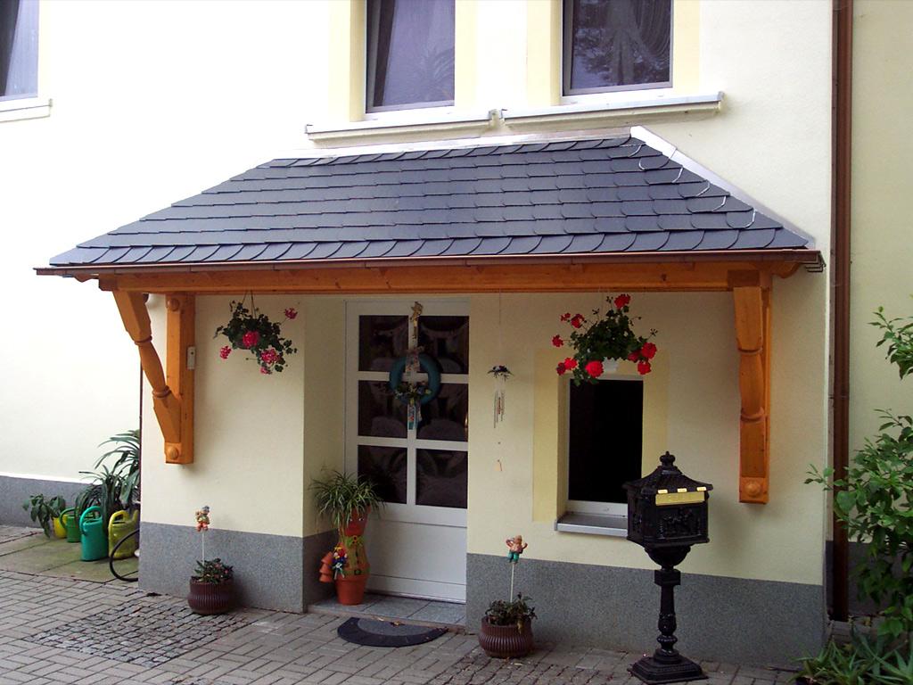 vordächer aus holz | carport scherzer