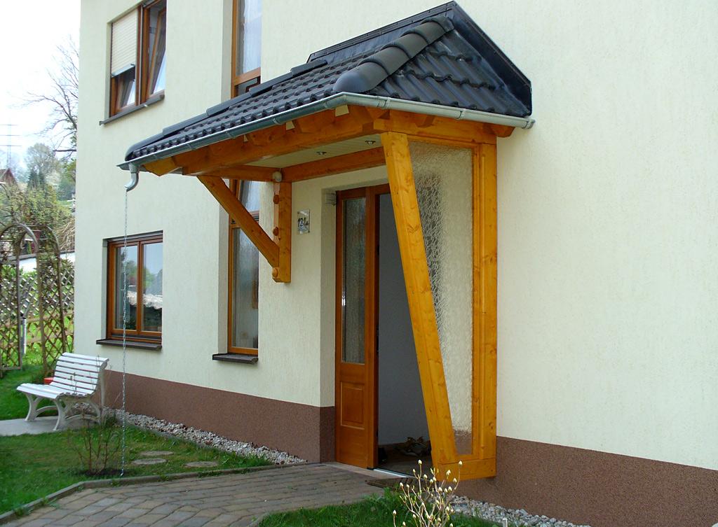Vordacher Aus Holz Carport Scherzer